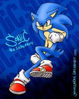 Sonic (Secret Santa '15) by JBtwoseven