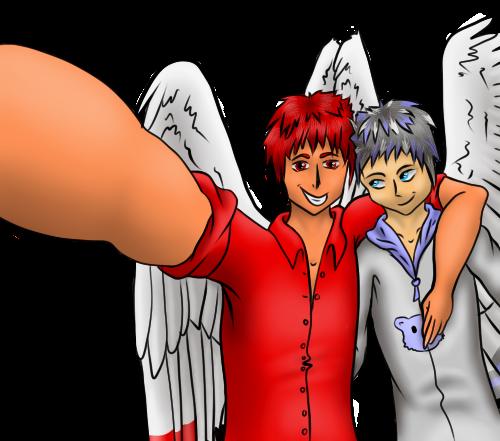 Kirami and Arco - gift by LazuliLupin