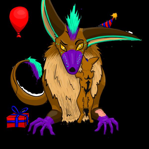 Happy Birthday, Dee! - Gift by LazuliLupin