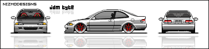 JDM EJ1 Civic by NizmoFreak