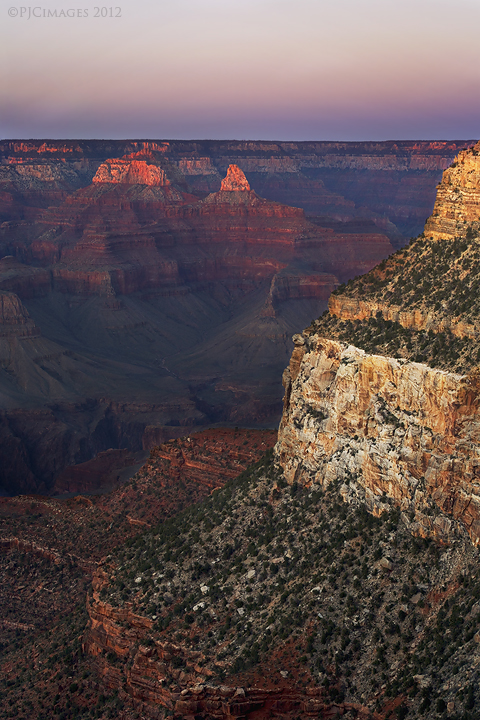 canyon solitude by PeterJCoskun