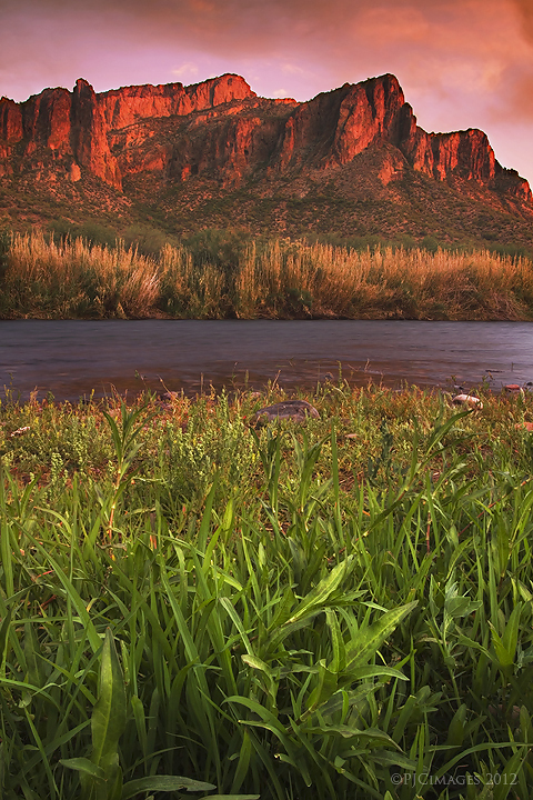 River evening by PeterJCoskun