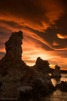Flaming tufas by PeterJCoskun