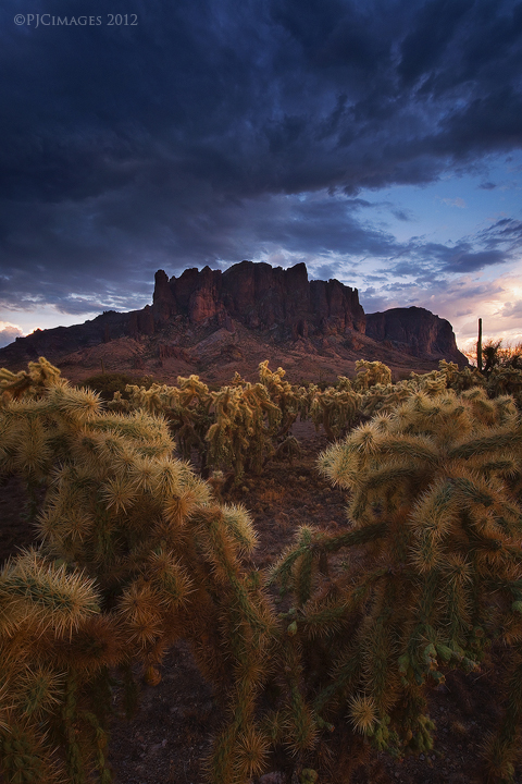 Superstition storm by PeterJCoskun