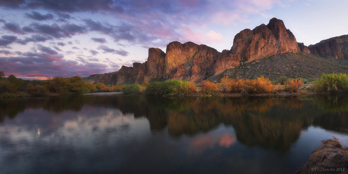 Salt River Twilight by PeterJCoskun