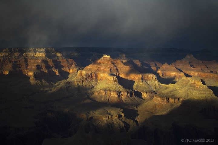 Canyon Light by PeterJCoskun