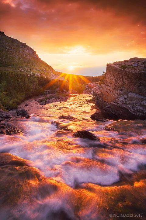 Heart of the Sunrise by PeterJCoskun
