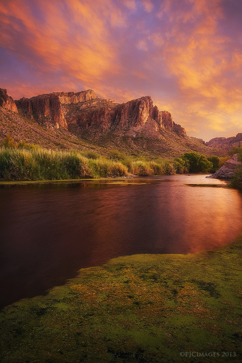 Toxic Sunset by PeterJCoskun