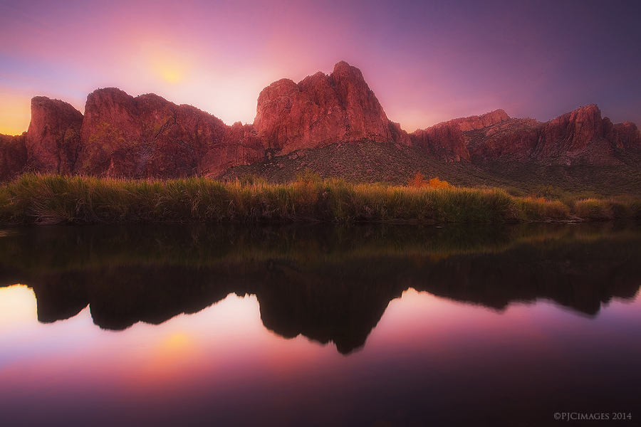Salt River Sunrise by PeterJCoskun
