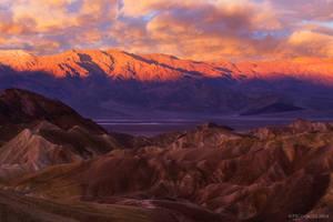 Panamint Sunrise by PeterJCoskun