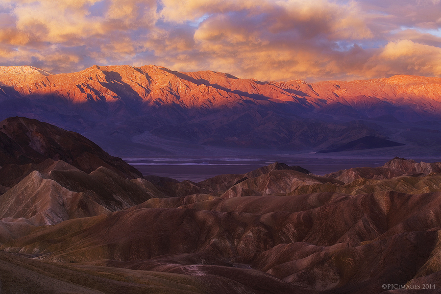 Panamint Sunrise by PeterJCoskun