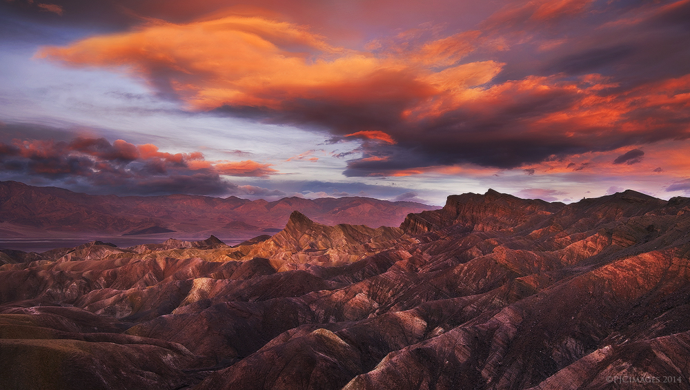 Zabriskie Sunrise by PeterJCoskun