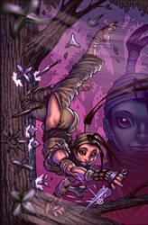 Ibuki cover by Adam Warren by artmunki