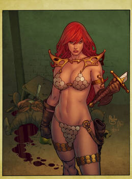 Red Sonja by PauloSiqueira