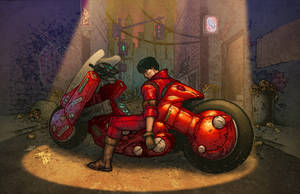 Akira Lives by Taylor Garrity by artmunki