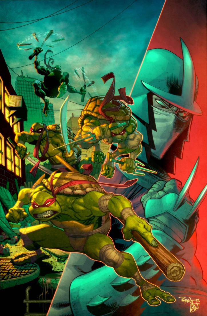 TMNT by Ryan Ottley