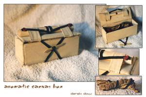 aromatic canvas box by artmunki