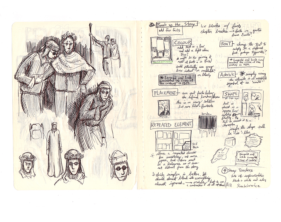 Sketchbook page by TheHuntingAccident