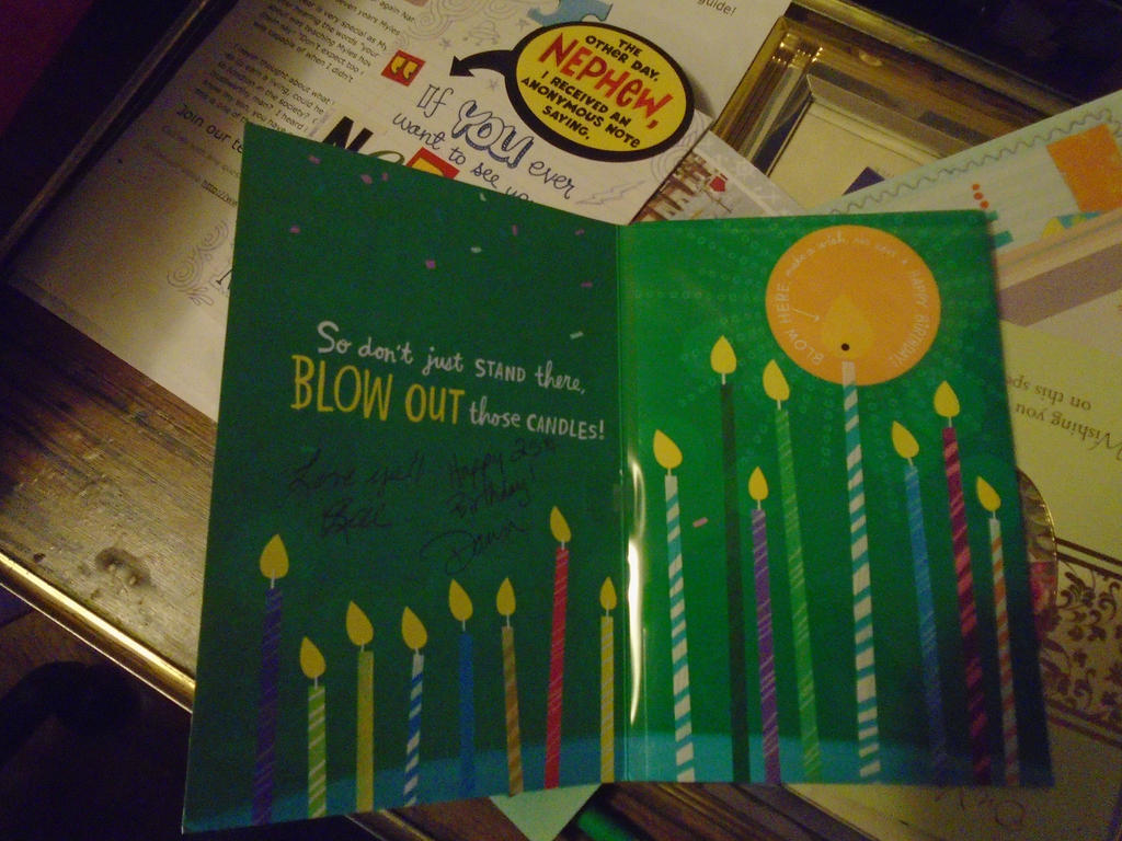 The blow out the candles card by mylesterlucky7