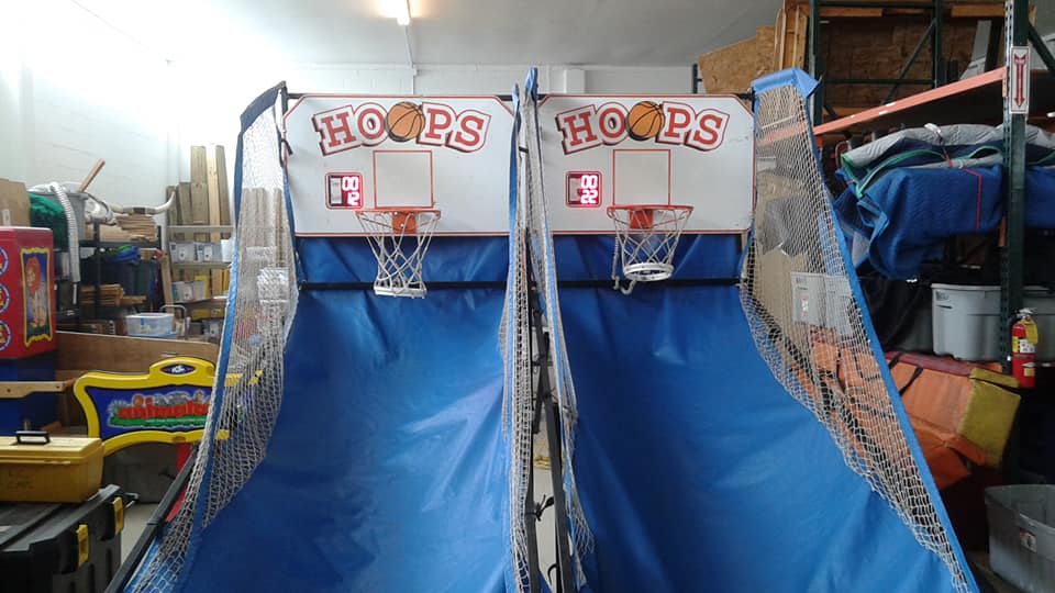 Classic Hoops arcade game by mylesterlucky7