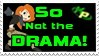 So Not the Drama Stamp by Vexic929