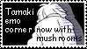 Tamaki Emo Corner Stamp