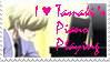 Tamaki's Piano Playing Stamp by Vexic929