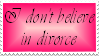 I Don't Believe in Divorce by Vexic929