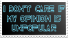 Unpopular Opinion by Vexic929