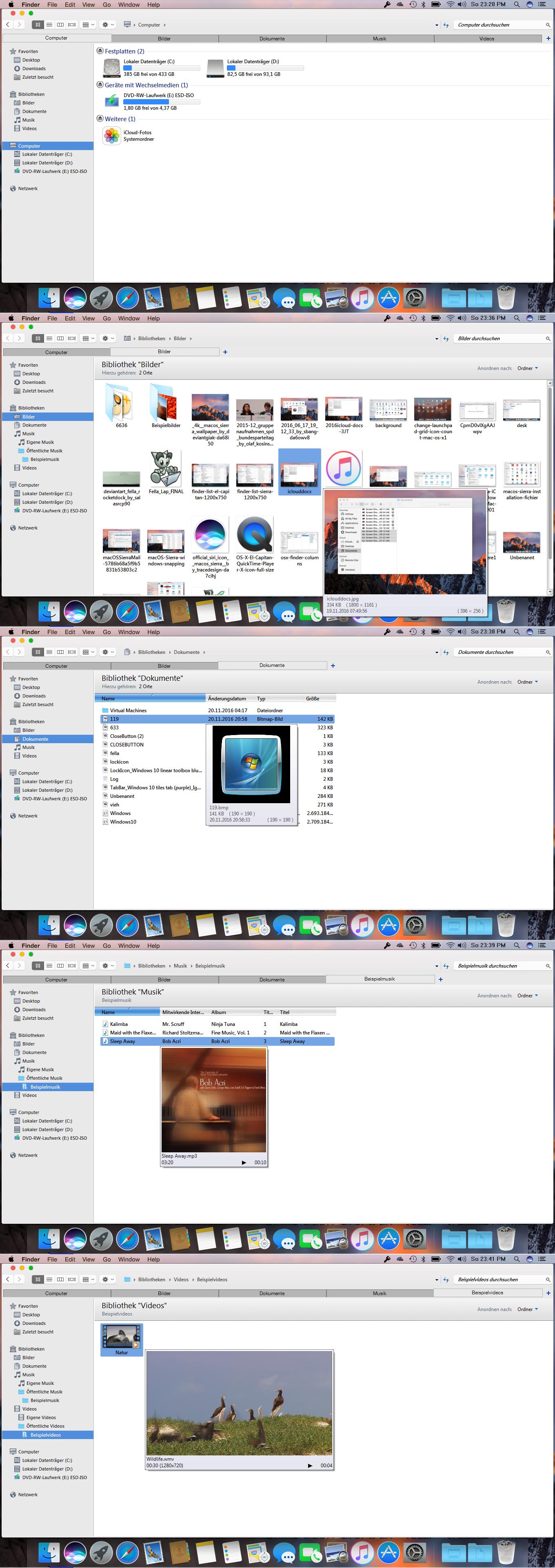 macOS Sierra  for all versions of Windows by PeterRollar
