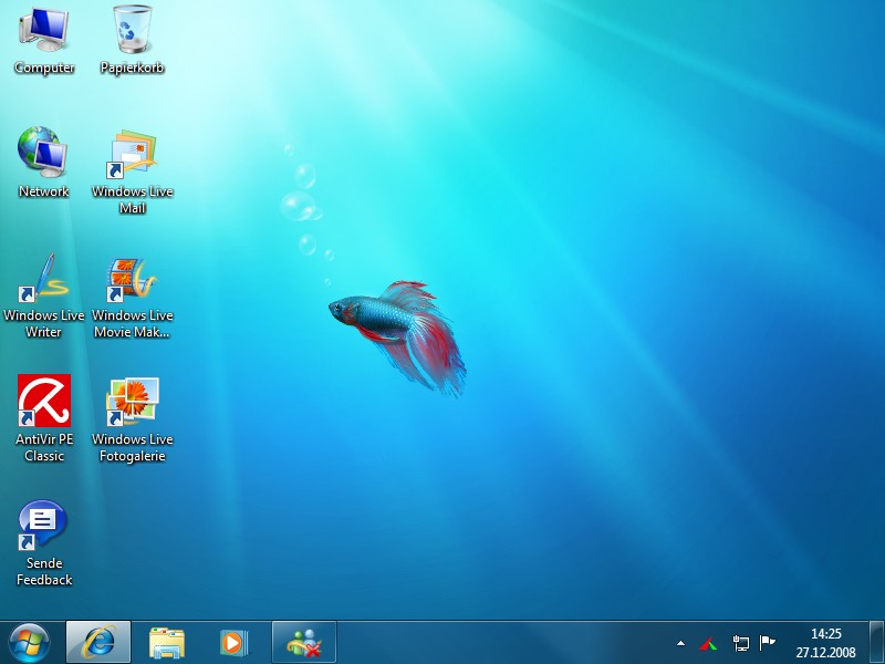 gallery for windows 7 default desktop