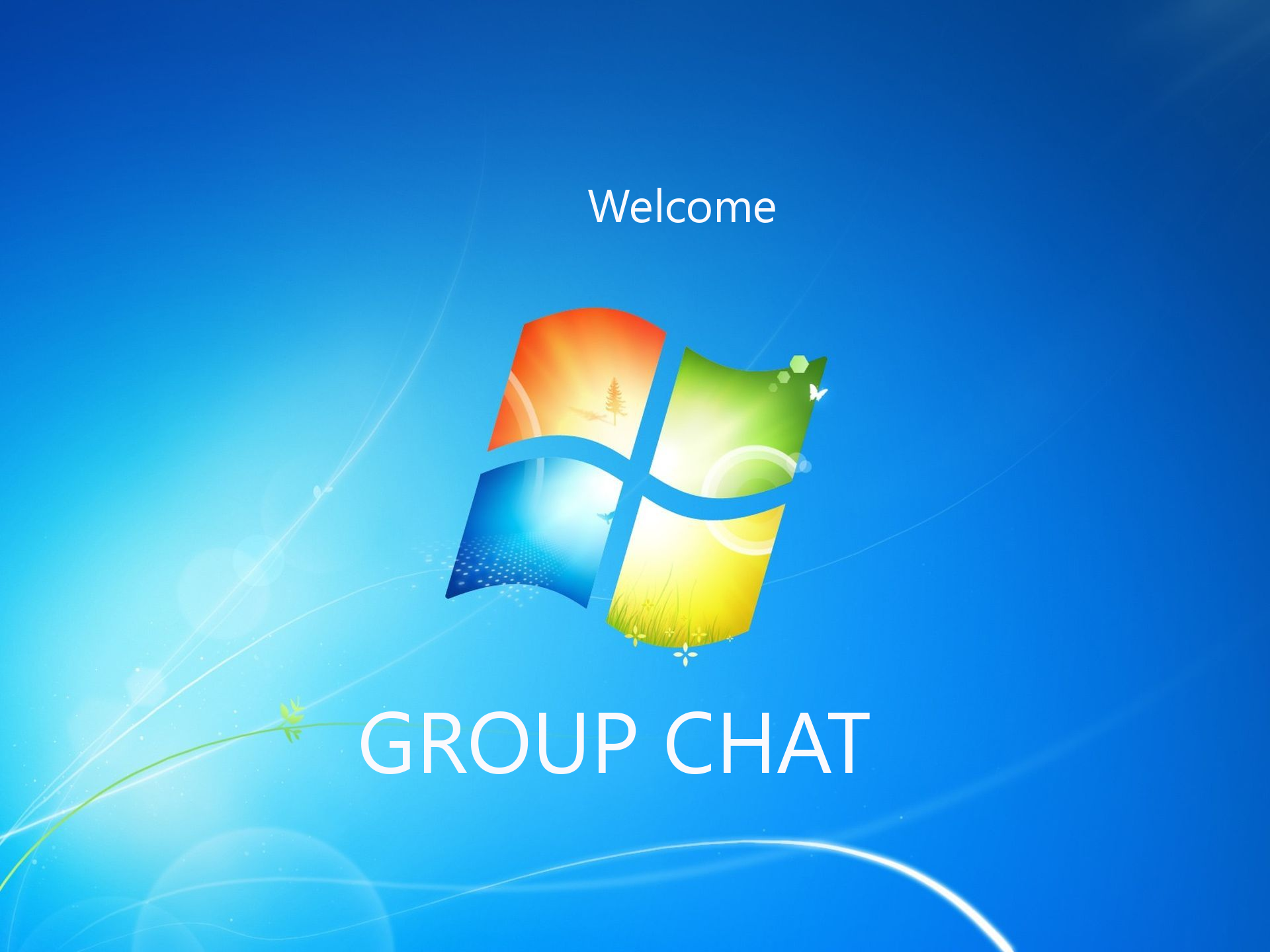 Welcome to the group chat by PeterRollar