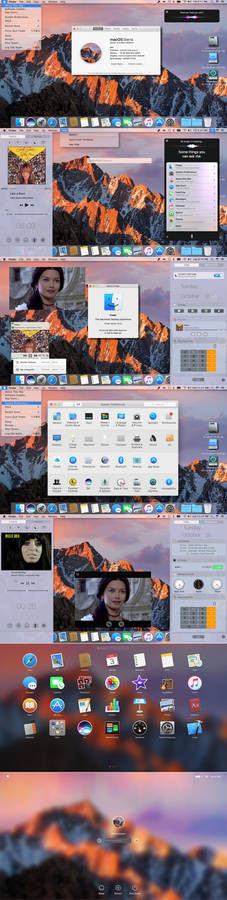 MacOS Sierra skin final for all Windows OS