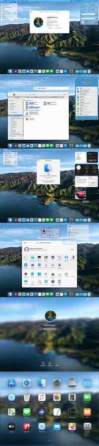 Most compete Windows-Mac Big Sur transformation