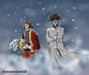 Russian campaign 1812 by Annieartworld