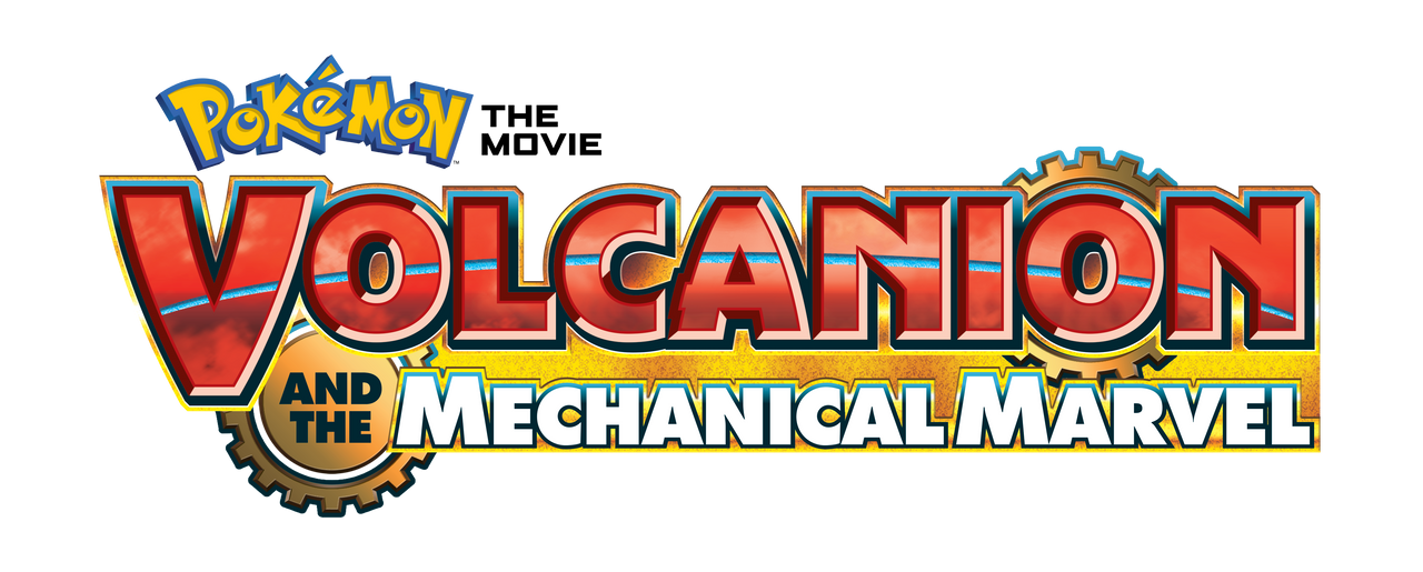 Pokemon Volcanion And The Mechanical Marvel Logo By Kiofficialart On Deviantart