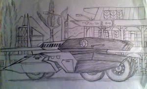 Model 550 tank destroyer