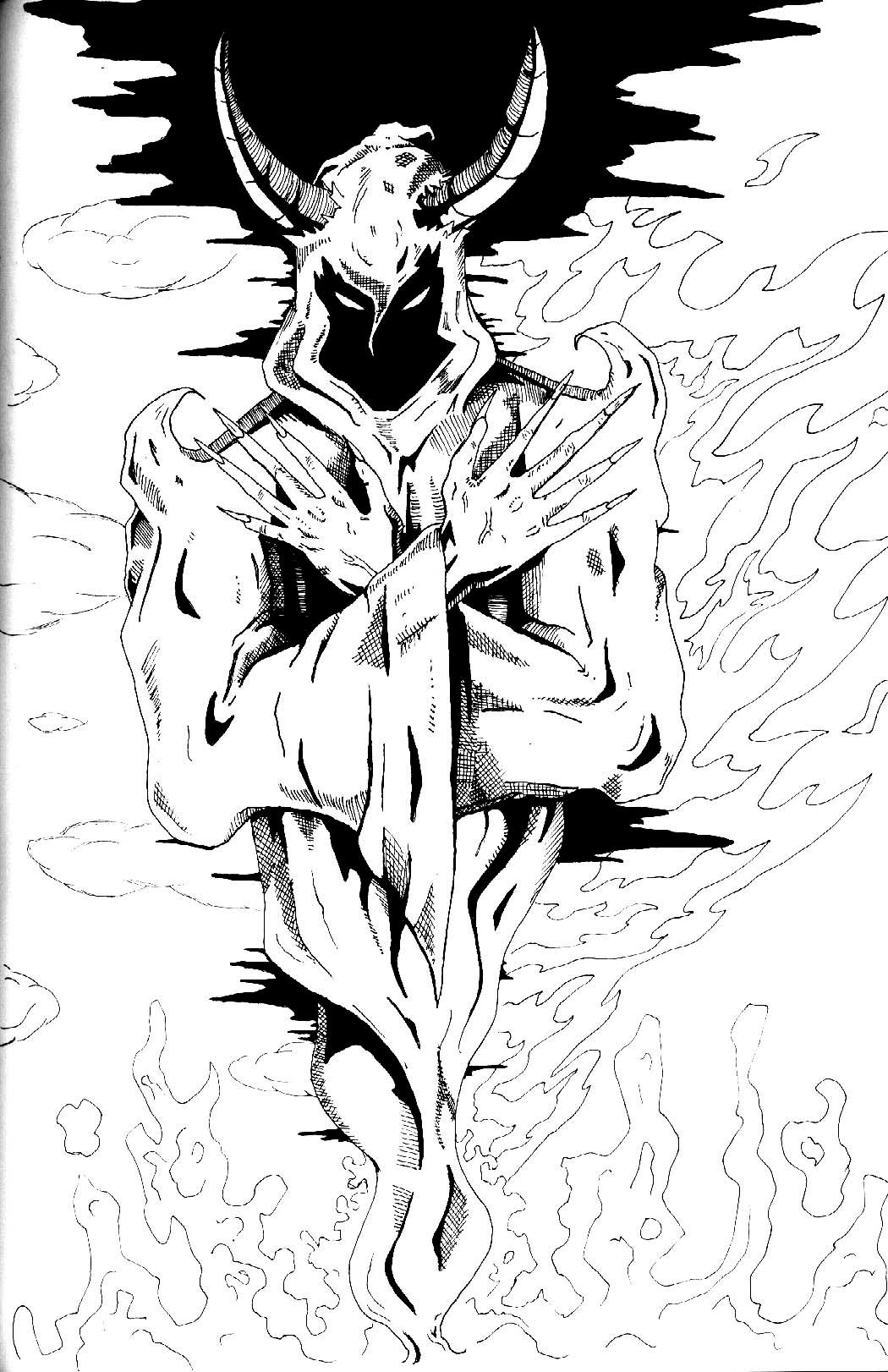 The Wraith By Petex On Deviantart Icp Coloring Pages