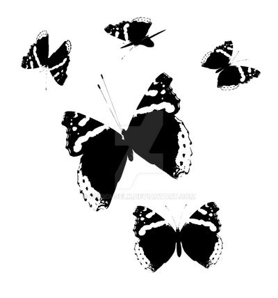 Butterfly Prints by CuriousElk