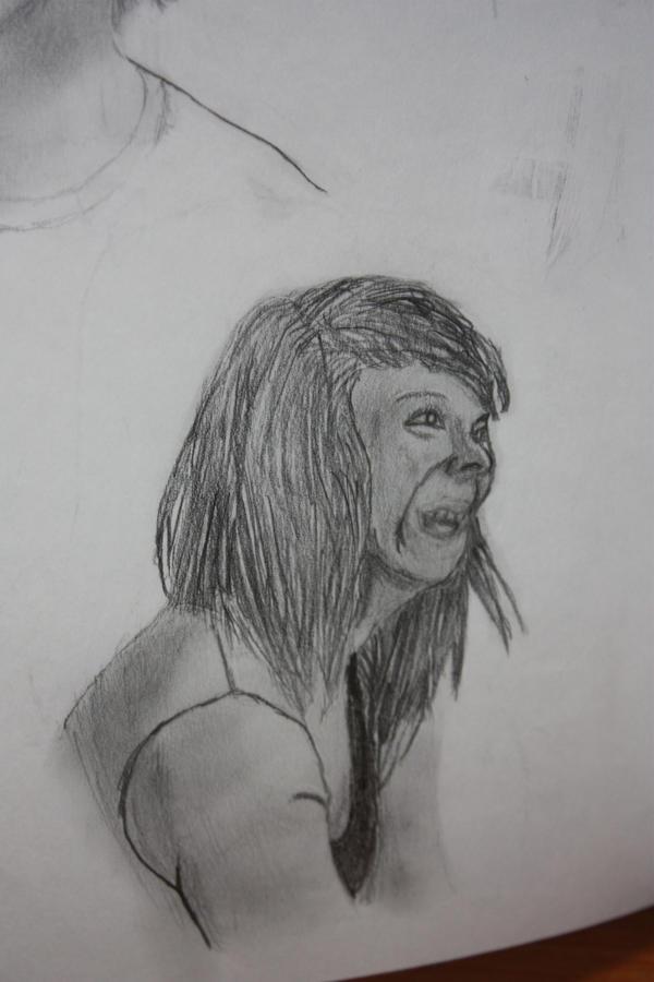 Rosie Sketch by CuriousElk