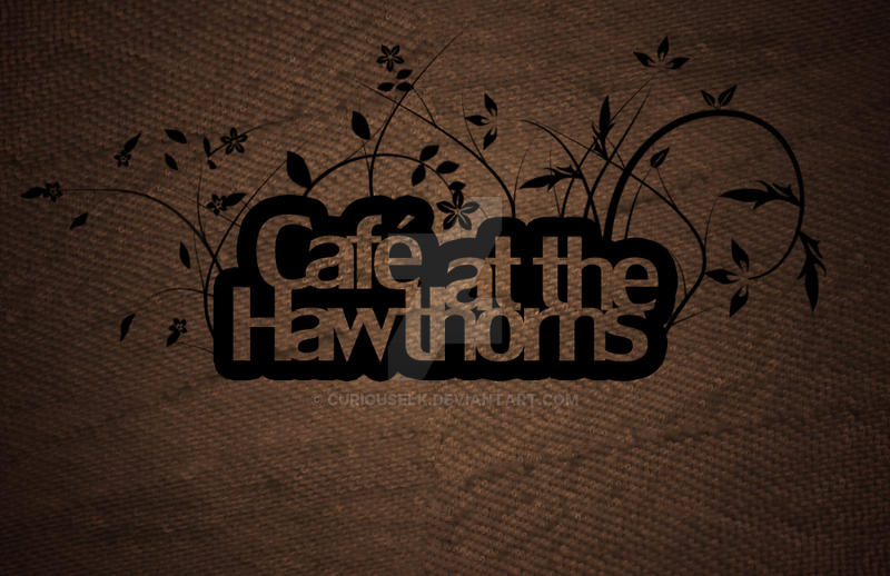 logo for cafe by CuriousElk