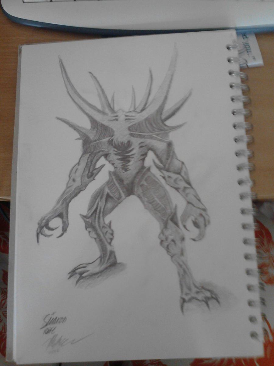 Sicaron Fan Art by CuriousElk