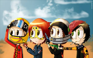 The Fabulous killjoys by Ezkai