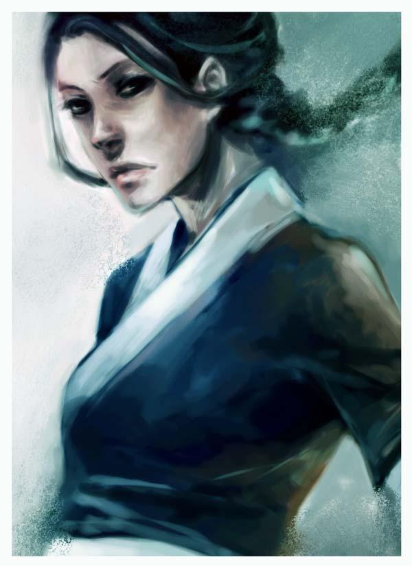 . avatar - katara . by chocosweete