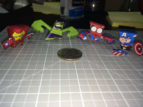 minibit + Marvel charaters