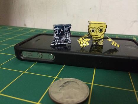 C-3PO n R2D2 MiniBits+ pairing