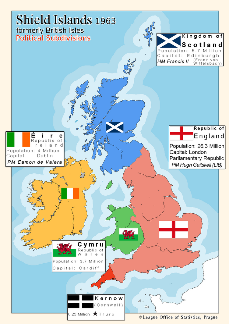 Free Worksheets map of scotland worksheet : British Isles, 1963 by stratomunchkin on DeviantArt