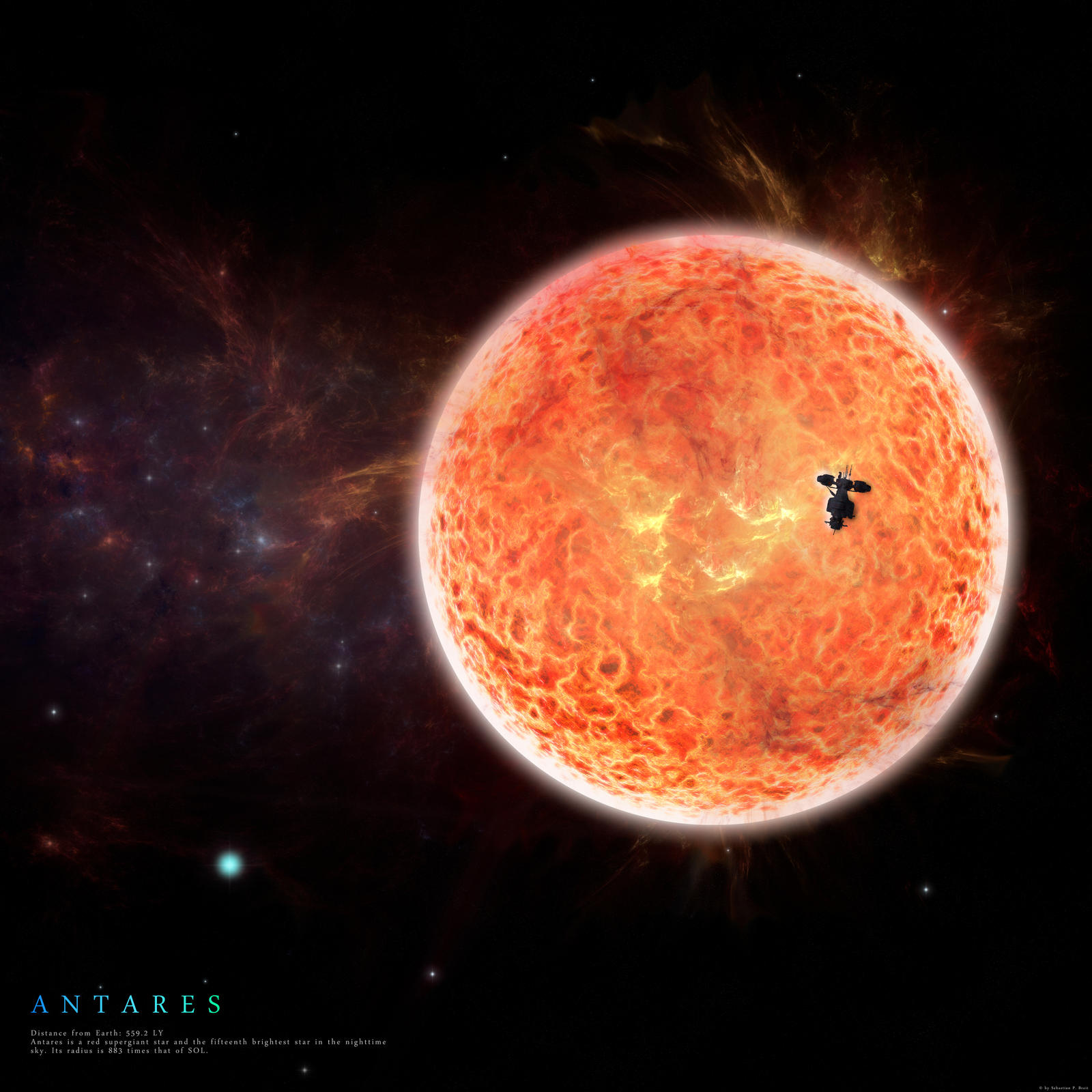 The Watcher Of Antares By Stratomunchkin On Deviantart