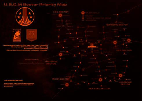 USCM Sector Priority Map (ALIENS) Bonus