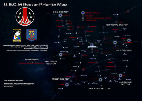 USCM Sector Priority Map (ALIENS)